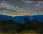 Blue Ridge III 11x14 oil on canvas