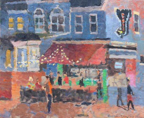 Curbside-cafe-10-x-12-inches-oil-on-canvas-2017-sf-1