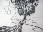 Of Course Theres Still Room detail 9x13 wood engraving