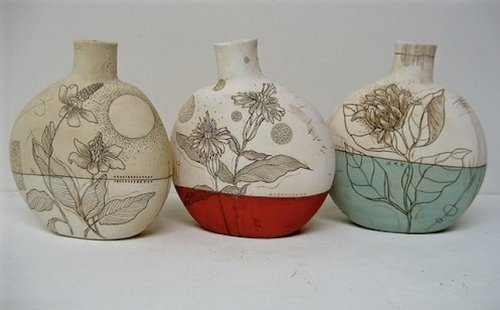 Canteen vases