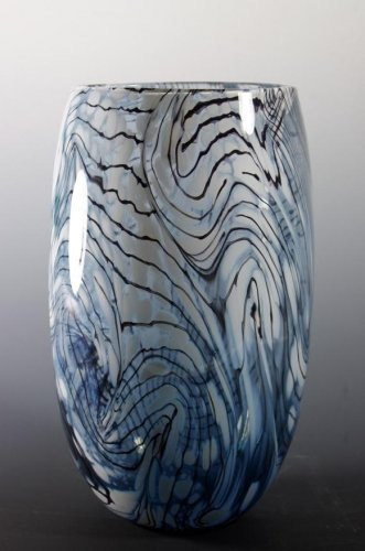 Blue Cloud Series Vase