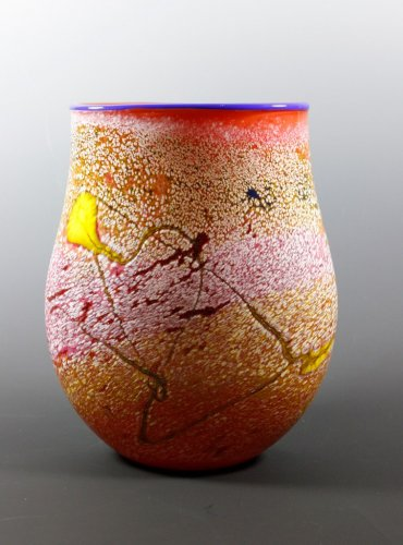 Small Bushfire Series vase