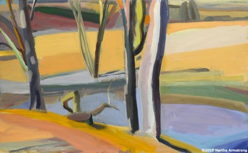 The Meander 25x40 oil on linen