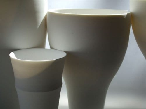 The Place de Catalunya series, southern ice porcelain, detail