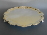Tiffany Chippendale sterling footed tray 12 in