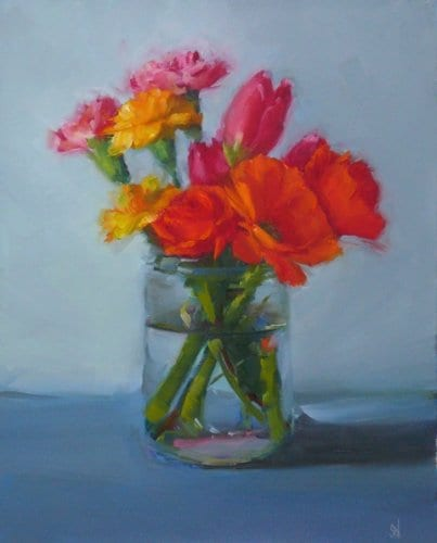 Spring Bouquet 8x10 oil on panel