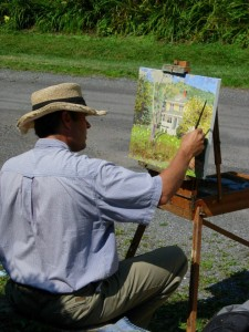 Andras-Bality-paints-in-the-village
